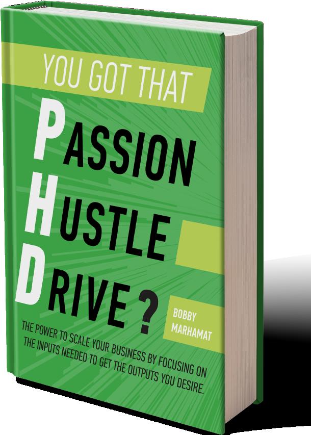 Passion Hustle Drive book image